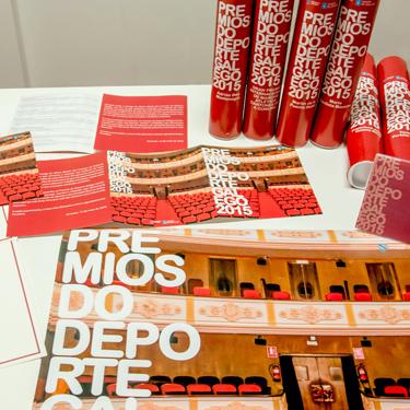 Premios deporte Galego 2015