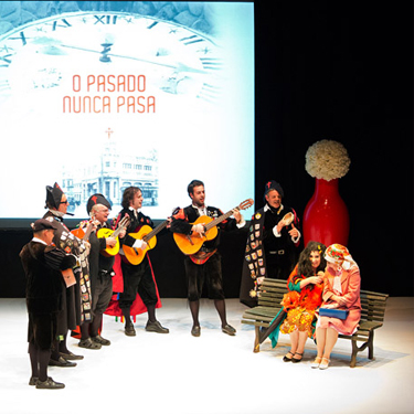 """Presentación del libro """"O pasado nunca pasa. Santiago"""""""