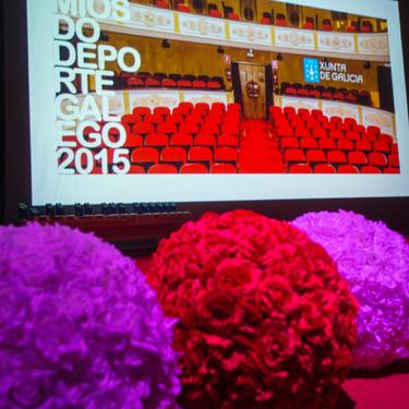 Acto entrega de premios Deporte Galego 2015