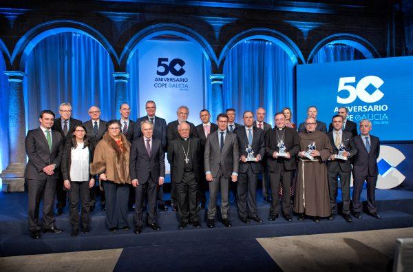 Acto 50 aniversario COPE Galicia 1966-2016